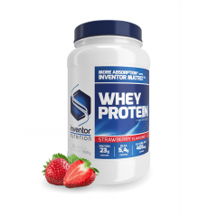 Inventor Nutrition Whey Protein concentrate fehérjepor Eper (960 g)