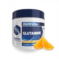 Inventor Nutrition Glutamine narancs (420 g)