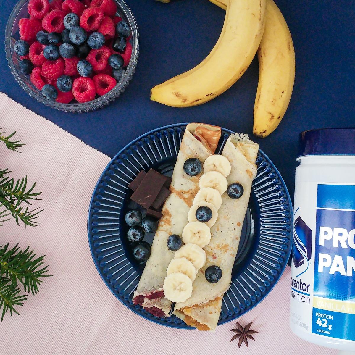 Ízesítsd mennyei gyümölcsökkel az Inventor proteinpalacsintádat