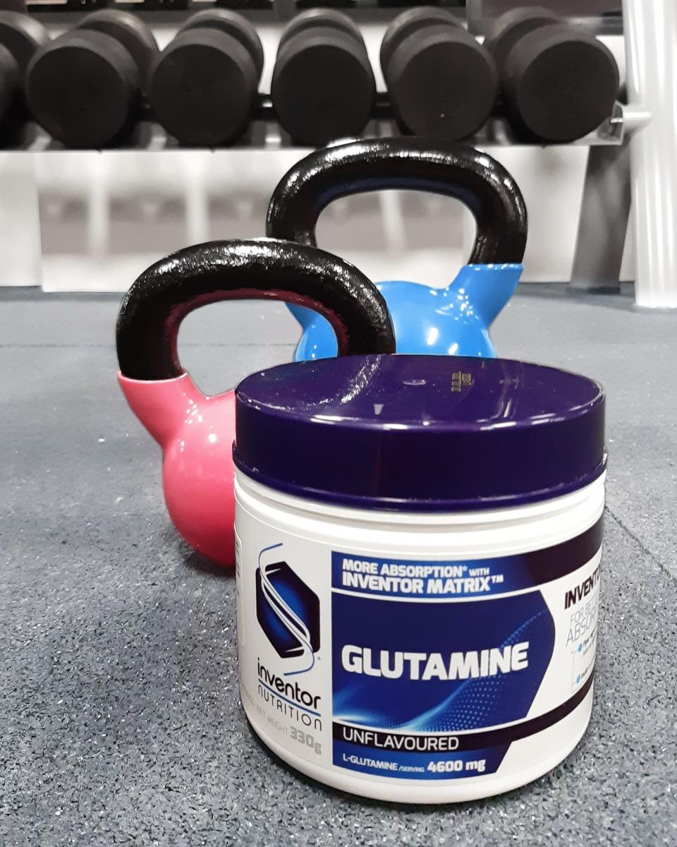Inventor Glutamin kettlebell edzéskor