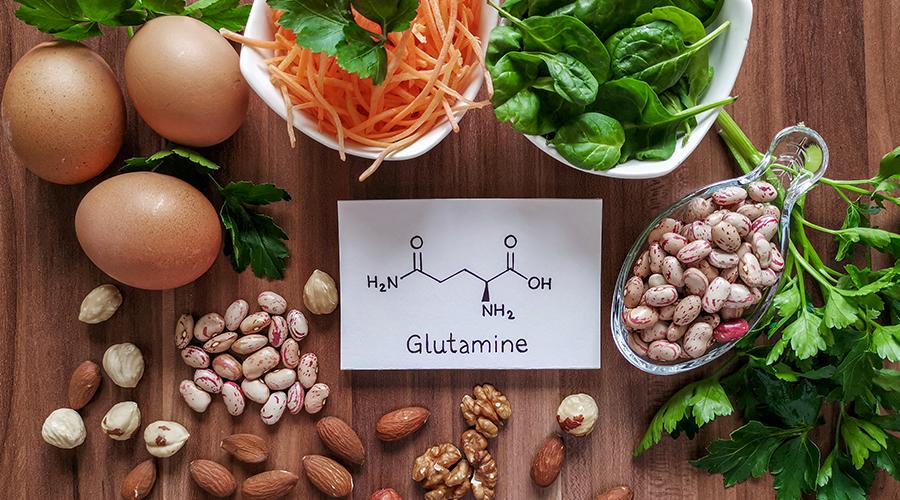 Glutaminfogyasztás megoldható vegetáriánus étkezéssel is, de legkönnyebb táplálékkiegészítő formájában fedezni